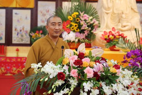奉贤佛教讲经交流会 悟继法师宣讲《如何建立信仰》