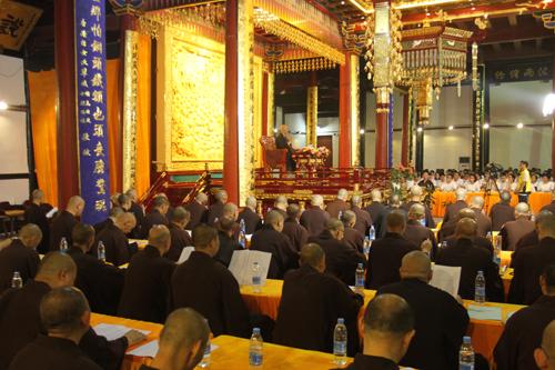 宁波天童禅寺第十一届暑期学修活动 宏觉法师应邀宣讲《佛陀初转法轮经》