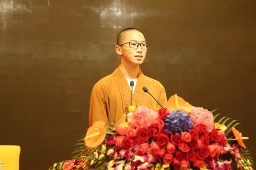 上海佛教讲经交流会 佛学院僧众宏清法师宣讲《如何安顿身心》