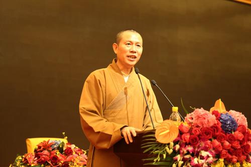 上海佛教讲经交流会 青浦区佛协宗源法师宣讲《如何安顿身心》