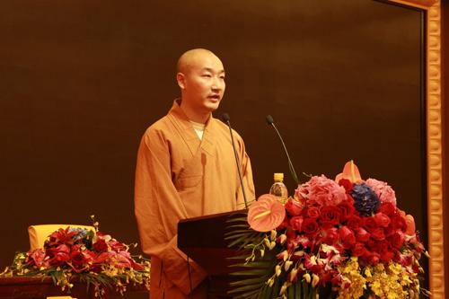 上海佛教讲经交流会 闵行区佛协妙安法师宣讲《如何利益众生》