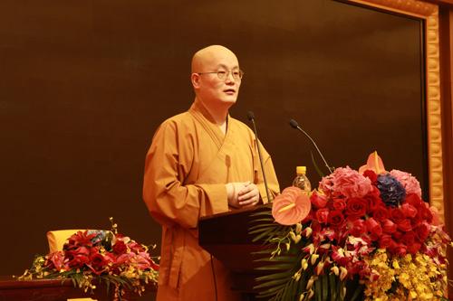 上海佛教讲经交流会 圆明讲堂传修法师宣讲《略说净土念佛门的现实意义》