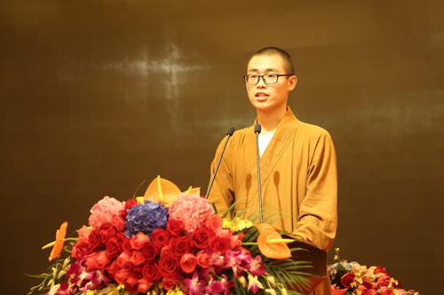 上海佛教讲经交流会  静安寺圣荣法师宣讲《如何利益众生》