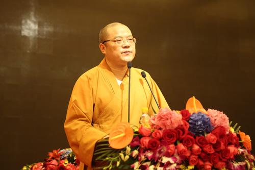 上海佛教讲经交流会  玉佛禅寺常进法师宣讲《坛经》中的人生智慧