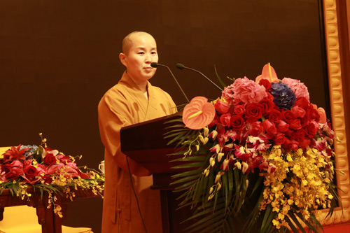上海佛教讲经交流会 下海庙耀文法师讲《观世音菩萨慈悲救世精神》
