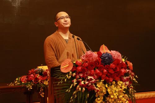 上海佛教讲经交流会 龙华寺觉林法师讲《行持戒律的现实意义》