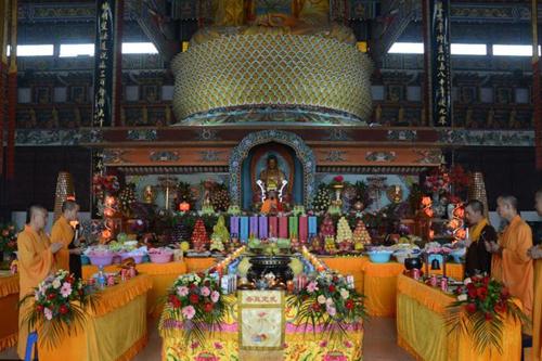 直播回顾:亚洲最大寺院南海禅寺盂兰盆节法会