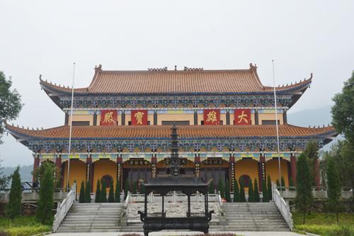直播回顾:宜春市显应禅寺举行全堂佛像开光暨圣愿大和尚升座庆典