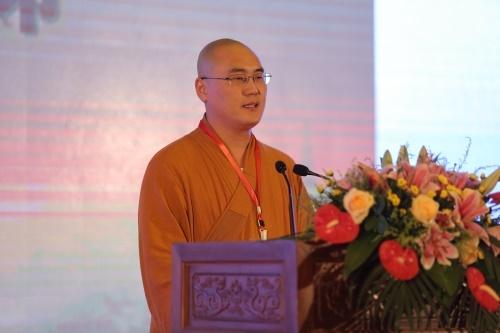 杭州佛学院学僧同润娱乐老虎机宣讲《如何建立信仰》
