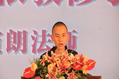 江西省佛学院学僧演朗娱乐老虎机宣讲《如何依教修学》