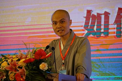 贵州省广源寺佛德法师宣讲《如何建立信仰》