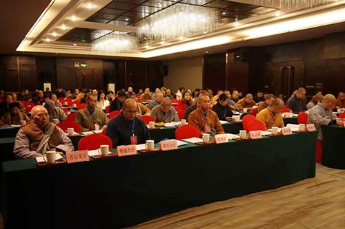 宜春市佛教协会三届一次理事扩大会议召开 圣愿法师当选会长