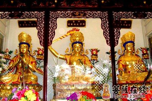 五台山全山寺院文殊诞辰举行系列祈福活动