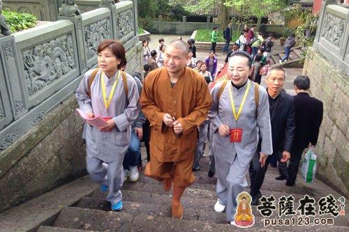 上海 五台山/上海居士团发大愿自发组织朝拜五台山