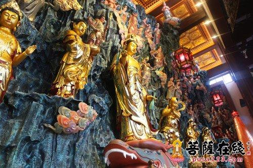 上海胥浦净寺隆重举行海岛观音佛像开光法会(2)