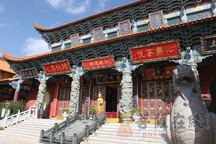 万佛殿(图片来源:菩萨在线 摄影:妙静)