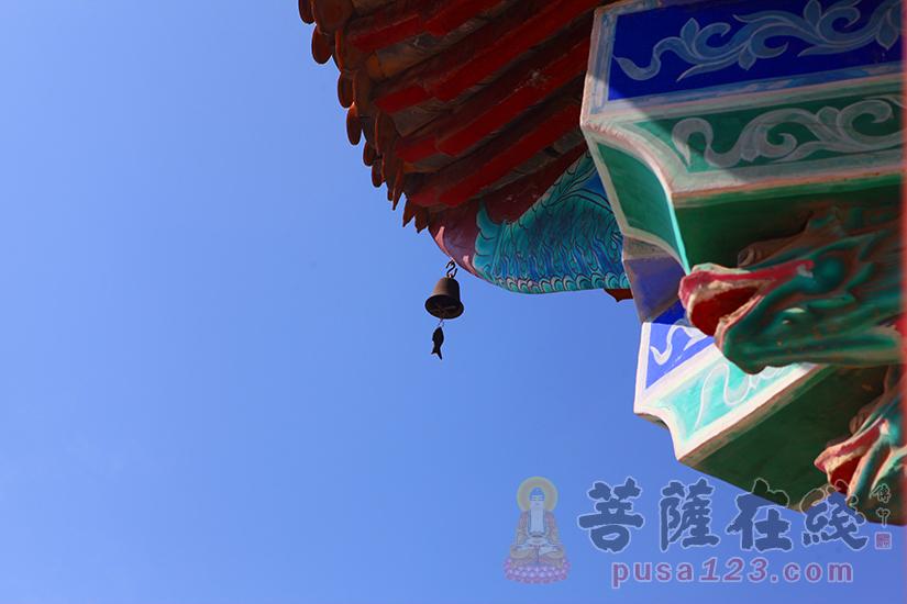 寺院一角 宁静清雅(图片来源:菩萨在线 摄影:妙静)