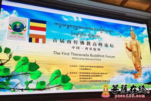 首届南传佛教高峰论坛(摄影:妙雨)