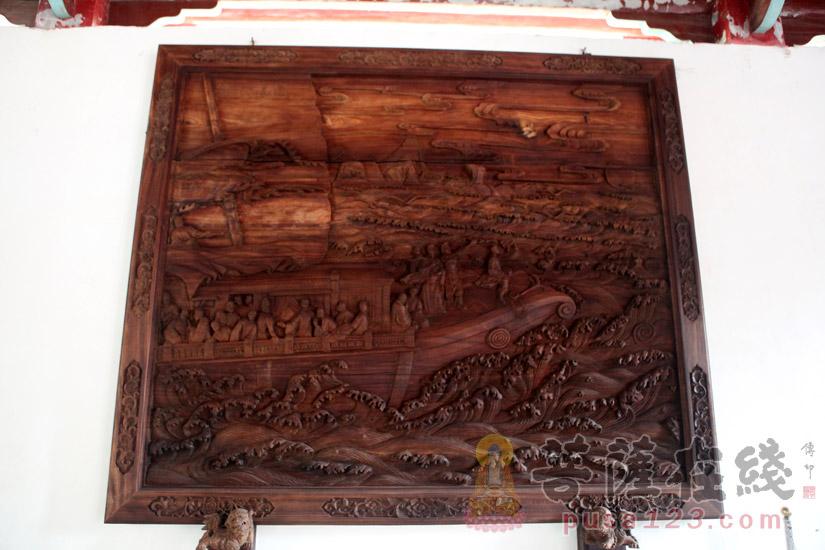 隐元禅师日本东渡图 (图片来源:菩萨在线 摄影:妙梵)