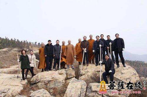 """湖北清水寺举行""""护林防火联防点""""揭牌仪式"""