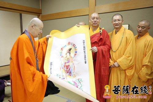 道慈大和尚一行应邀赴日出席一山一宁国师圆寂700周年活动(2)