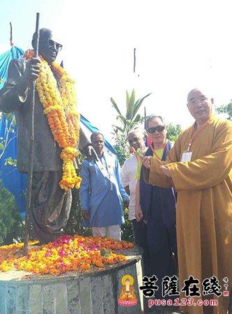 博山正觉寺方丈仁炟法师一行参访印度那格浦尔龙树学院