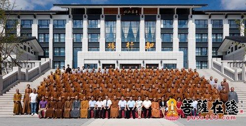 浙江佛学院隆重举行2017级新生开学典礼