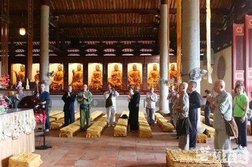 法脉传承 源于一脉 日本黄檗宗文化交流团一行参访广化寺 - 菩萨在线
