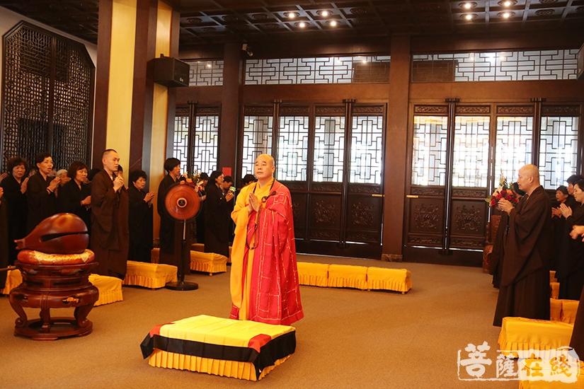 回向法会(图片来源:菩萨在线 摄影:妙月)