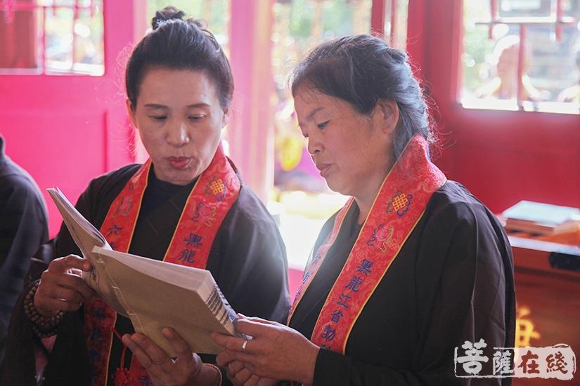 《梁皇宝忏》是中国佛教界流传最久、内容最长的一部增福灭罪的忏仪(图片来源:菩萨在线 摄影:妙澄)