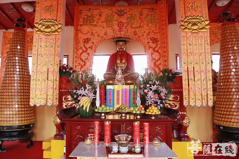 水陆法会是中国佛教中仪式最隆重且功德殊胜的法会(图片来源:菩萨在线 摄影:妙澄)