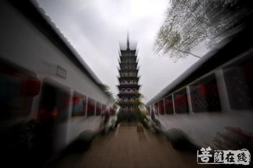 """北京天宁寺塔:中国第一座会""""讲经""""的佛塔"""