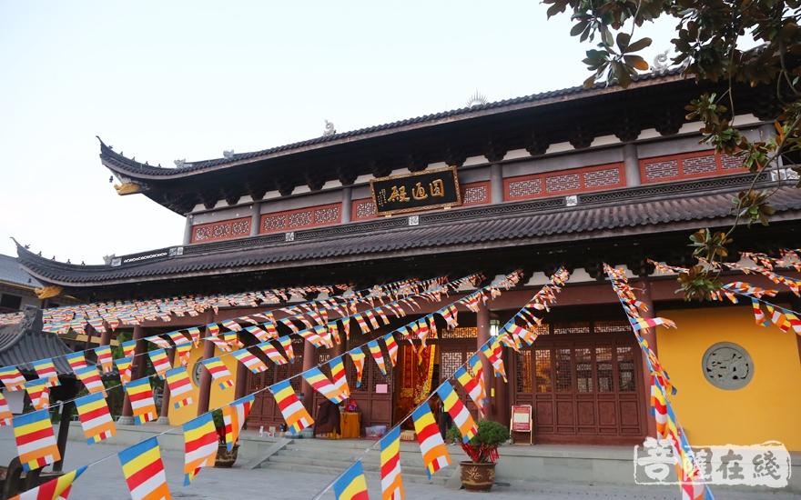 瑞祥寺殿宇恢弘(图片来源:菩萨在线 摄影:妙雪)