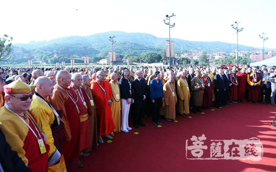 200余名海內外嘉賓出席活動(圖片來源:菩薩在線 攝影:妙雨)