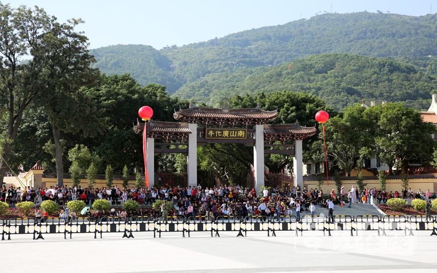 南山廣化寺(圖片來源:菩薩在線 攝影:妙雨)