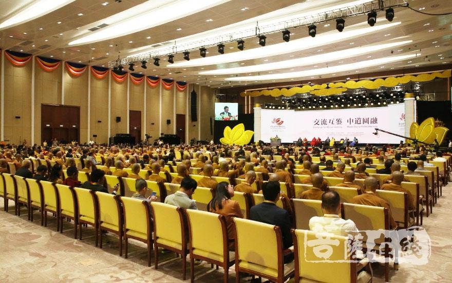 為期2天的第五屆世界佛教論壇于10月30日圓滿閉幕(圖片來源:菩薩在線 攝影:妙雨)