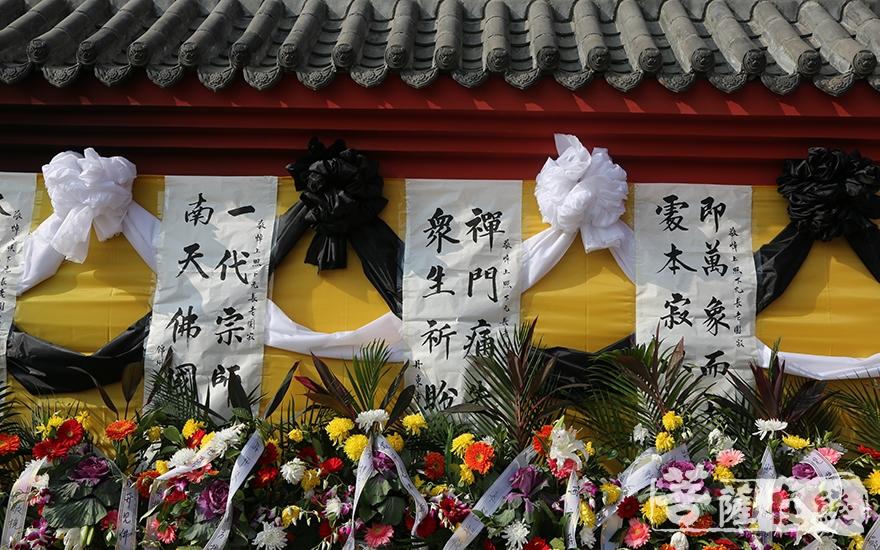 緬懷長老(圖片來源:菩薩在線 攝影:妙靜)