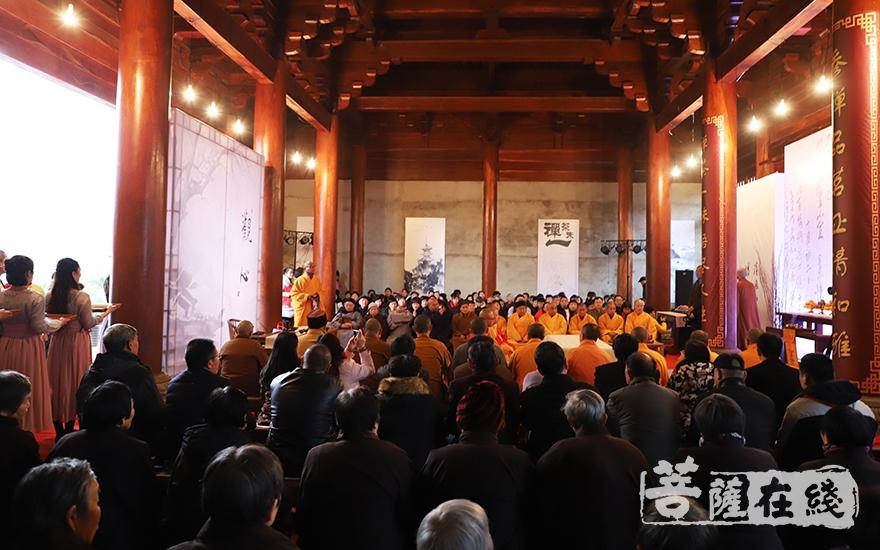 传承禅茶文化(图片来源:菩萨在线 摄影:慧恒)