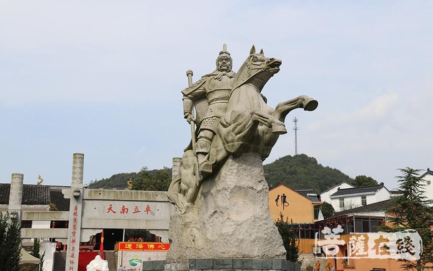 通泽将军(图片来源:菩萨在线 摄影:妙月)