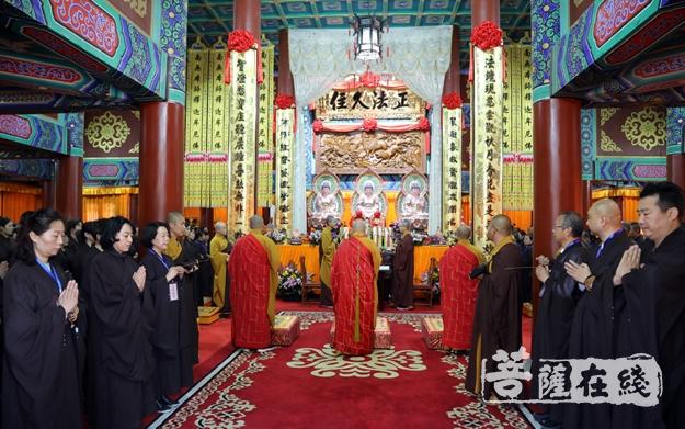 胶州慈云寺传授首届在家居士菩萨戒法会