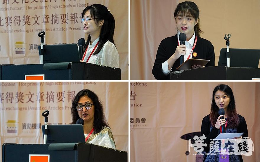 征文比赛每组前3名分享得奖文章摘要(图片来源:菩萨在线 摄影:张妙)