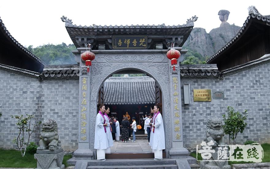 浙江温岭梵音禅寺(图片来源:菩萨在线 摄影:唐雪凤)