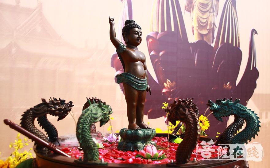 太子圣像(图片来源:菩萨在线 摄影:齐志国)