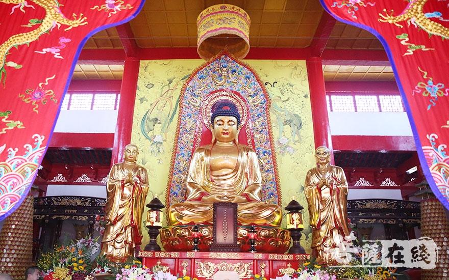 佛相庄严(图片来源:菩萨在线 摄影:唐林雪)