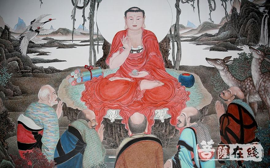兴隆寺壁画(图片来源萨在线 摄影:唐林雪)