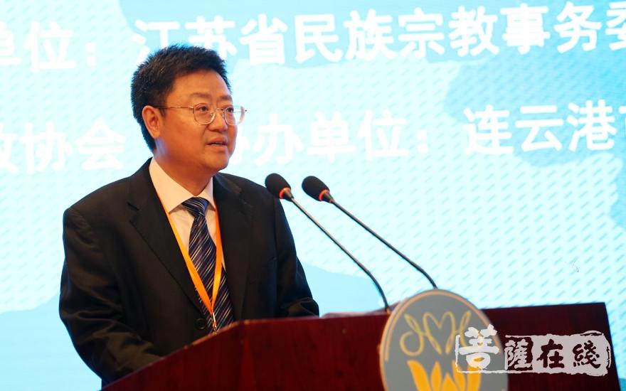 周偉文副主任向論壇提出三點建議(圖片來源:菩薩在線 攝影:唐雪鳳)