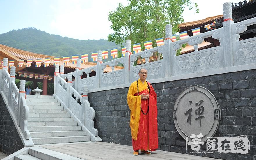 門凈法師(圖片來源:延祥古寺)