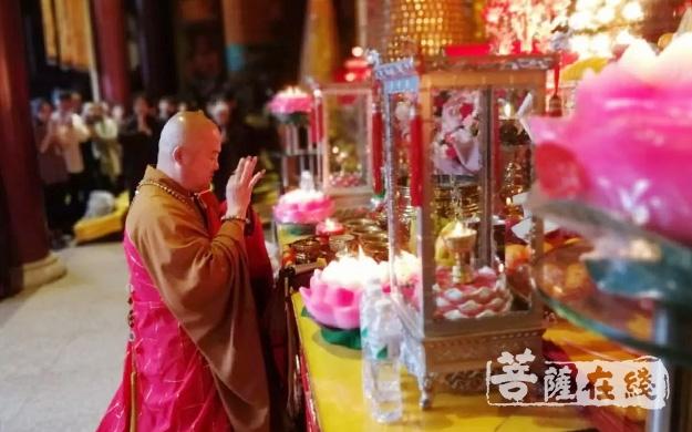 调兵山明月禅寺举行2019中高考祈福法会