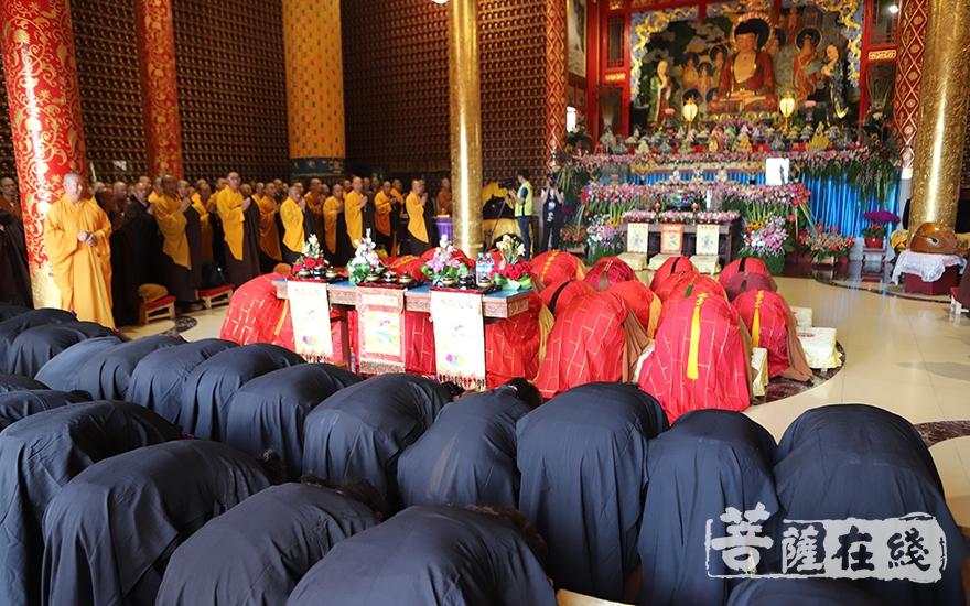 虔誠禮拜(圖片來源:菩薩在線 攝影:王穎)