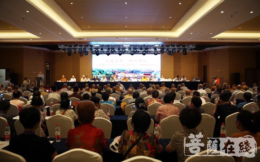纪念慧清长老圆寂20周年座谈会(图片来源:菩萨在线 摄影:李蕴雨)
